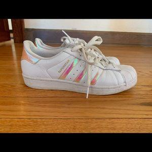 Adidas Pink Superstar Shoes
